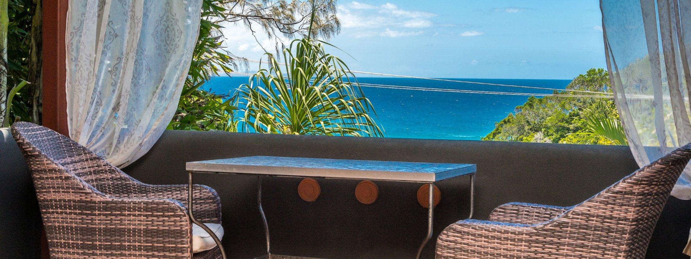 Wategos Retreats - Wategos Beach - Byron Bay - Outdoor setting views