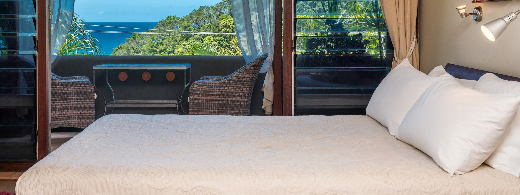 Wategos Retreats - Wategos Beach - Byron Bay - Bedroom