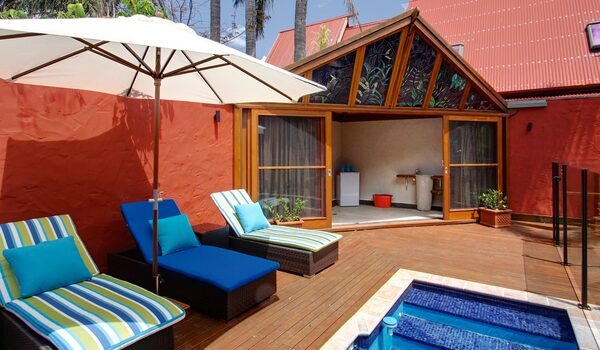 Byron Blisshouse Penthouse - Pool Area