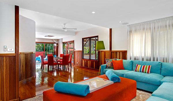 Byron Blisshouse Penthouse - Living Area