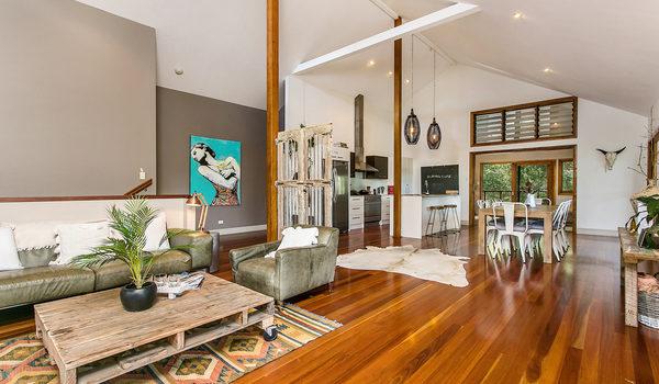 Temple Beach House - Living Area