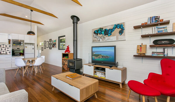 Coorabell Cottages - Orchard Cottage - Living Area