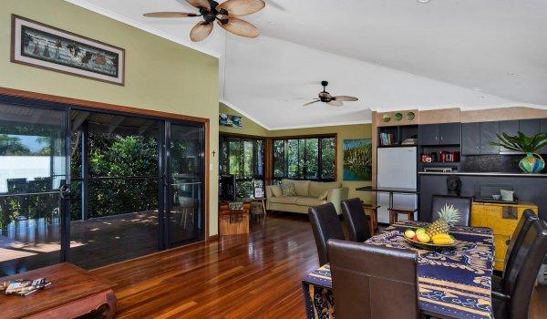 Jannah - Lennox Head - Open plan living area