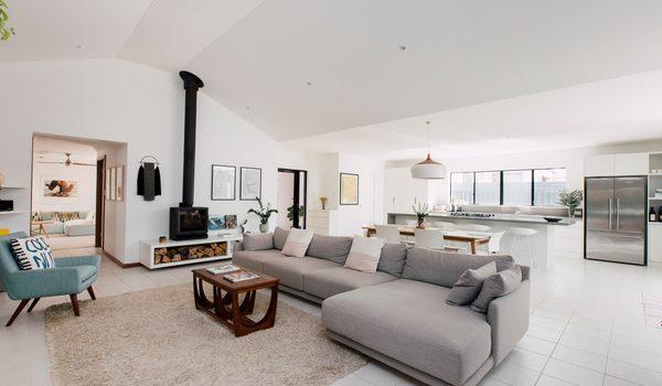 Beachside House - Living Area