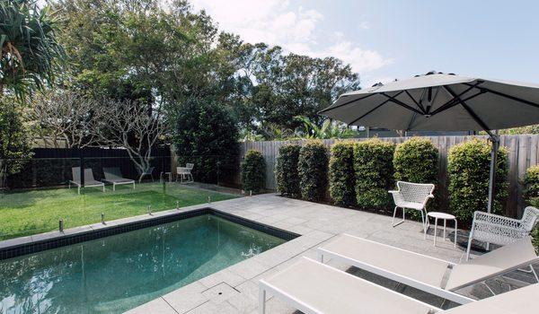 Beachside House - Pool Area