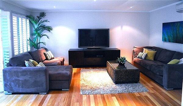 At Driftaway - Living Room