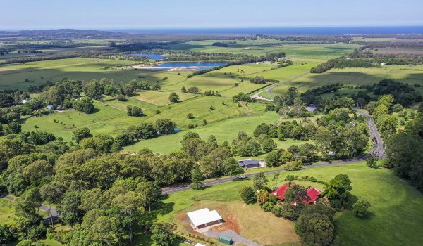 Toad Hall Cottage - Lennox Head - Aerial to NE
