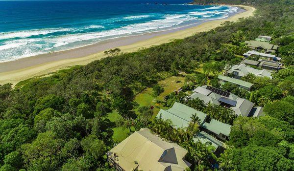 Tuckeroo Beach House - Suffolk Park - Aerial View
